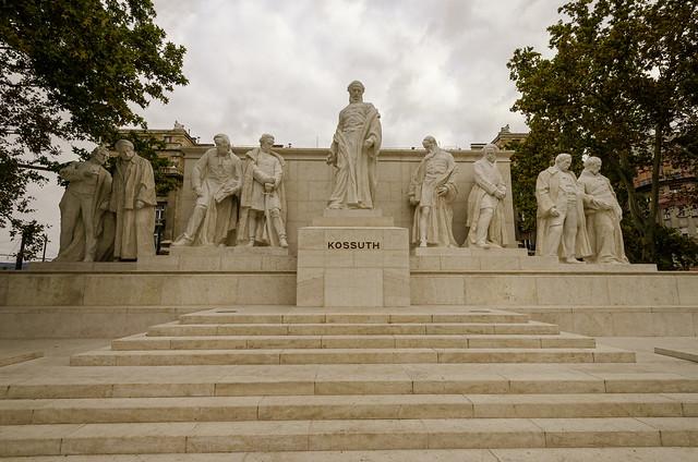 Grounds of Parliament Budapest 2
