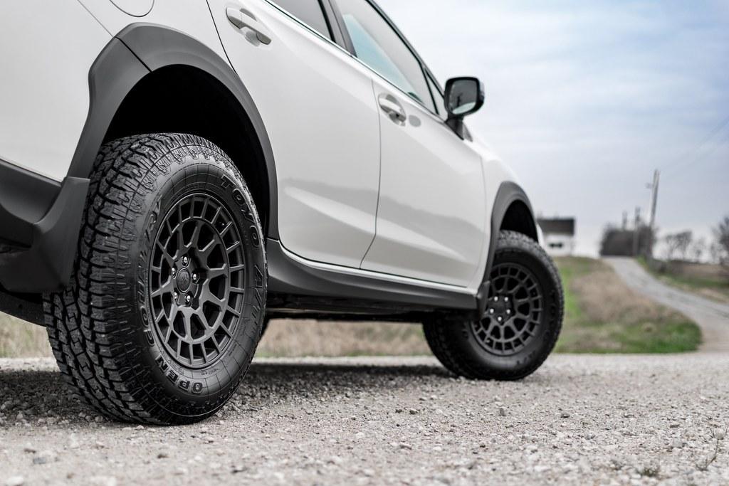 Subaru Crosstrek On Black Rhino Boxer Gunblack Wheels Rims Flickr
