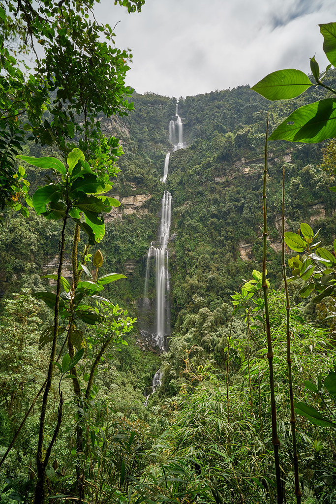 Casca de La Chorrera- Choachí - Colombia