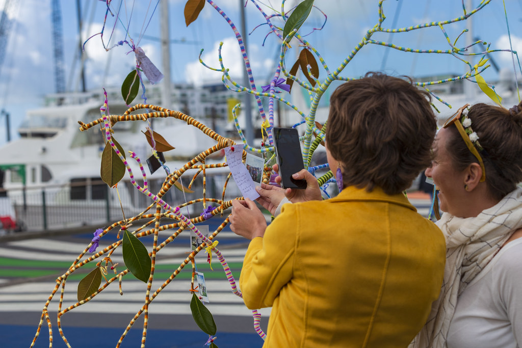Family Tree Activation Handmade Creativity Auckland Decor