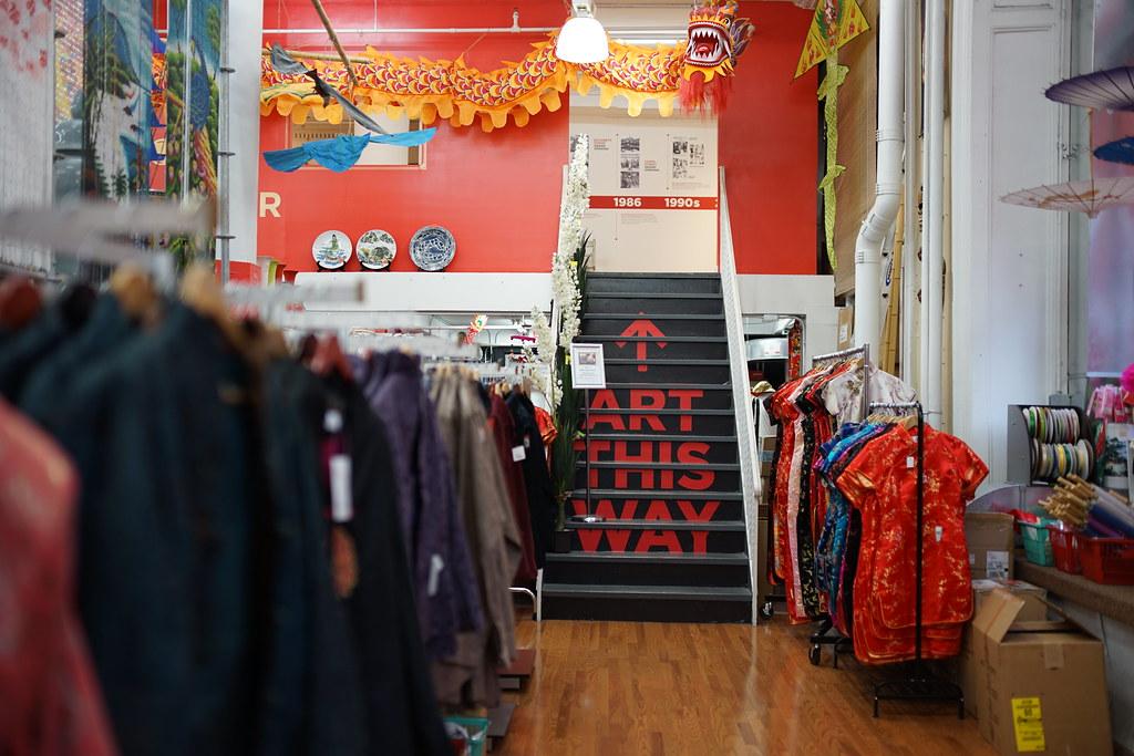 Pearl River Mart mezzanine art gallery