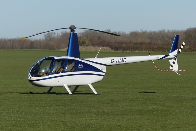 Robinson R44 G-TIMC