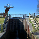 Steep canal locks at Preston