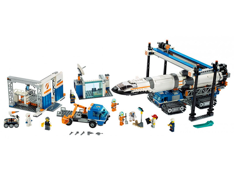 LEGO City Rocket Transport (60229) 03
