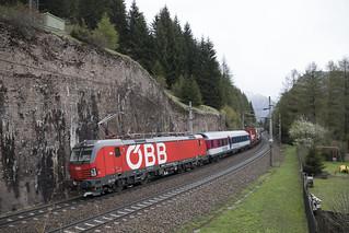 A ÖBB 1293 038 Gries am Brenner 04-05-2019