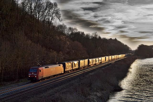 152 126 DB zwischen Günzburg und Neuoffingen
