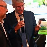 Korrespondentenwechsel im ZDF (Ulf-Jensen Rüller (l.) & Elmar Theveßen (r.))