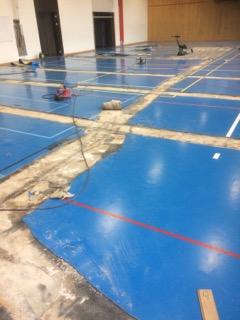 Sanierung Turnhallenboden