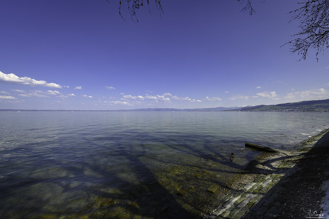 Lake view from Arbon - Thurgau - Switzerland
