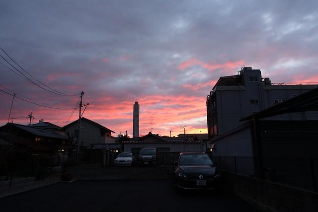 scarlet cloud