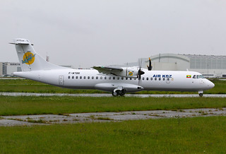 F-WTBR ATR72 AIR KBZ