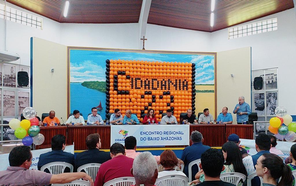Cidadania realiza Encontro Regional do Baixo Amazonas, e filia o advogado Ítalo Melo, Cidadania - em Santarém