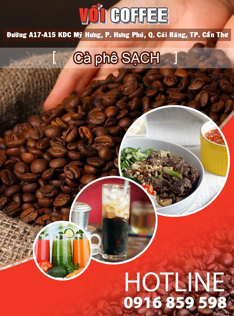 Cà phê sạch, ngon tại KDC Mỹ Hưng TP. Cần Thơ 0915326788