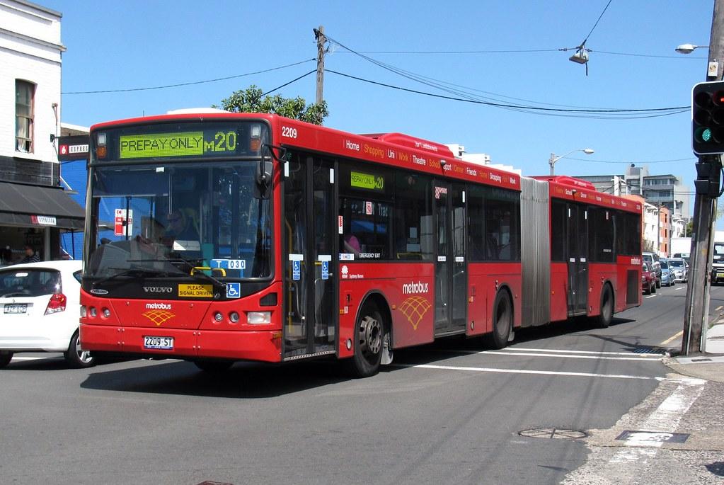 Bus 2209, Botany Rd, Beaconsfield, Sydney, NSW.