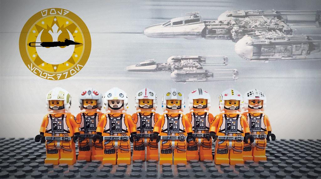 LEGO STAR WARS GOLD SQUADRON