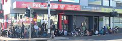 Panorama: Vigil outside Peter Khalil office #climatestrike #Fridaysforfuture IMG_4579 - IMG_4581
