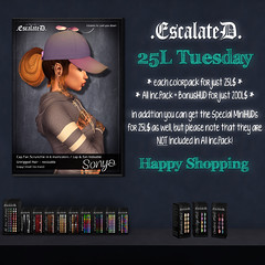 .EscalateD. | 25L Tuesday | 21.May.19