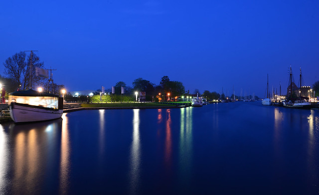 Greifswald - Blue Hour Harbour
