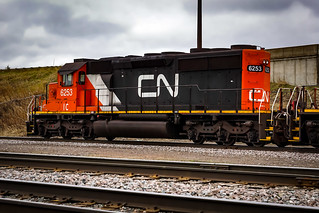Canadian National IC EMD SD40-2 6253, Missabe Junction - Duluth MN USA, 05/02/19