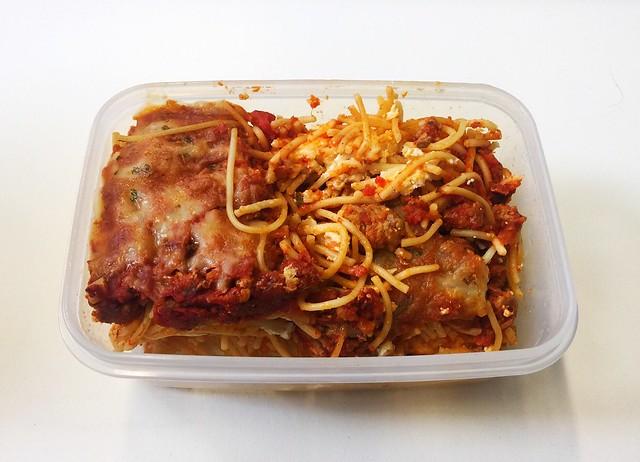 Million Dollar Spaghetti - Reheated