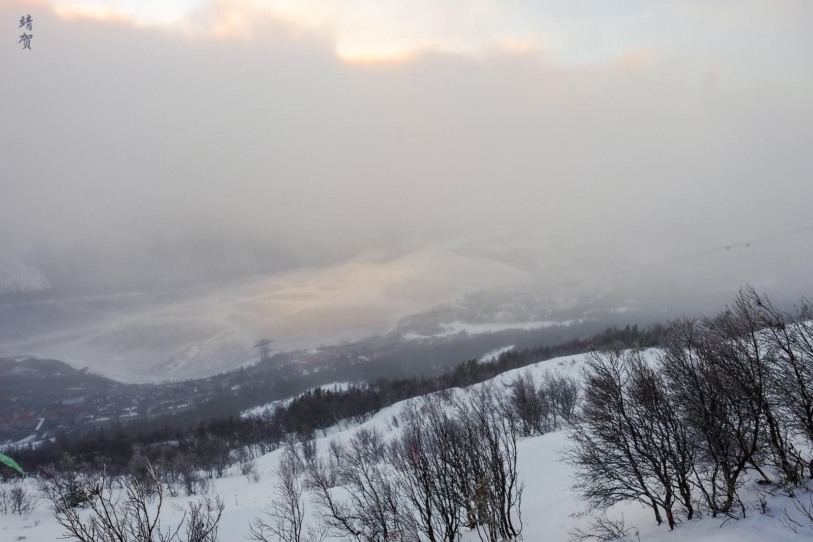 Summit view from Åreskutan
