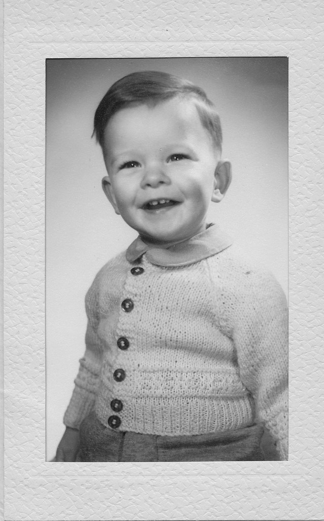 Me, aged 2 in 1959