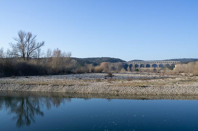 Gardon River landscape