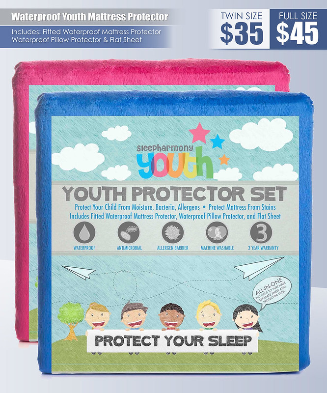 Waterproof Youth Mattress Protector