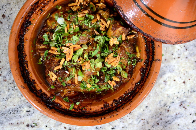 Lamb and Apricot Tagine