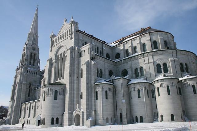 Basilique Sainte-Anne-de-Beaupré, Québec/Sainte-Anne-de-Beaupré Basilica, Beaupré, Quebec