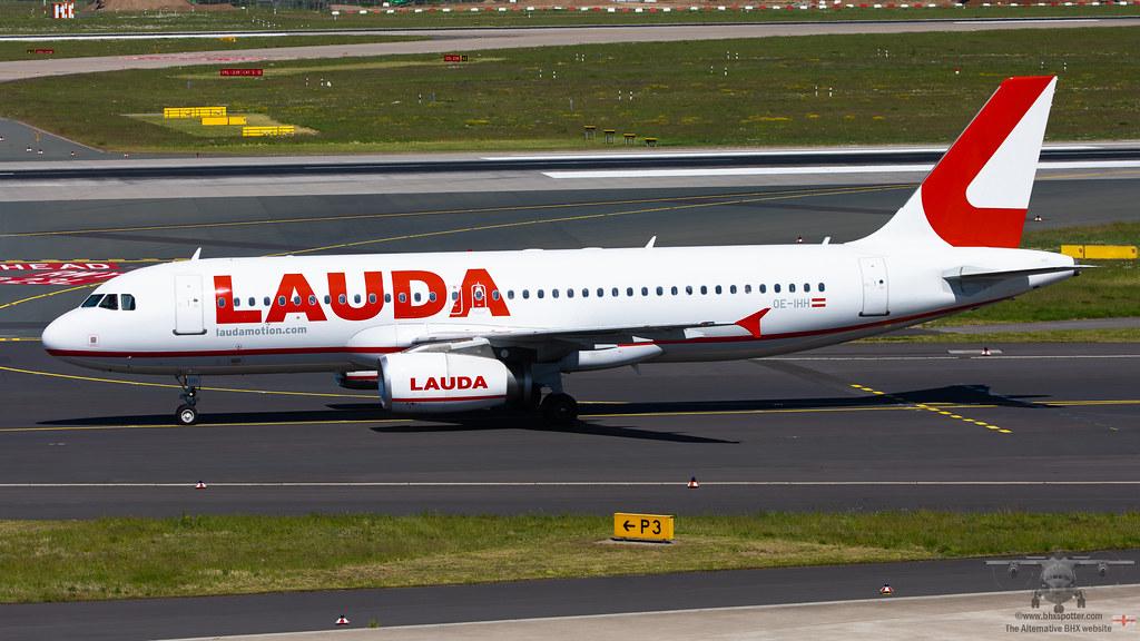 OE-IHH A320 LAUDAMOTION