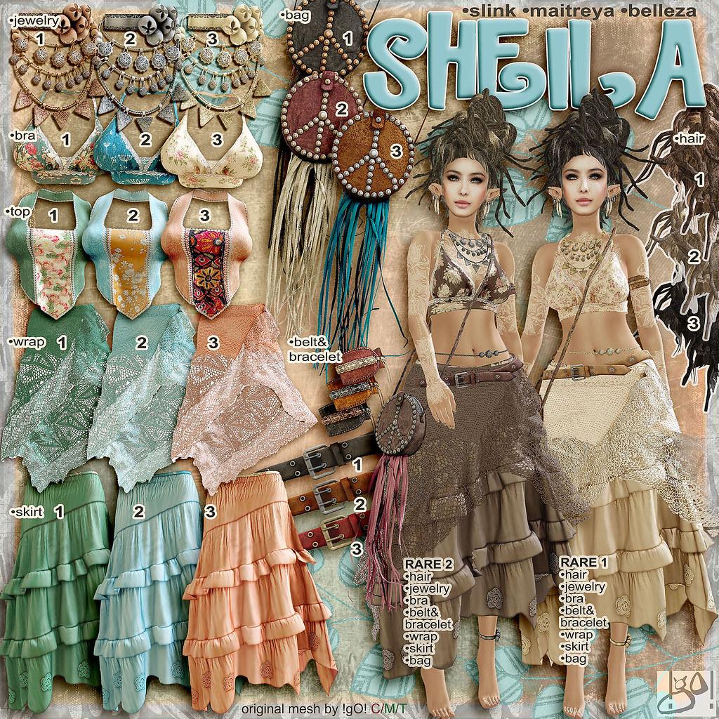 !gO! Sheila – Gacha key