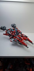 Lego tevatron level 8 fighter