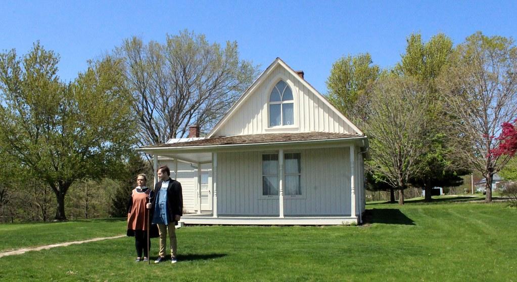 Eldon, Iowa, American Gothic House
