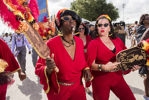 Lady Rollers at Jazz Fest day 6 on May 3, 2019. Photo by Ryan Hodgson-Rigsbee RHRphoto.com
