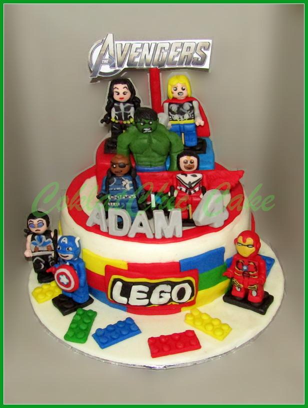 Lego Avengers Adam 18 cm