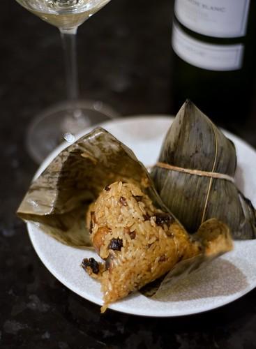 Sticky rice dumpling(Zongzi) for Dragon Boat Festival.