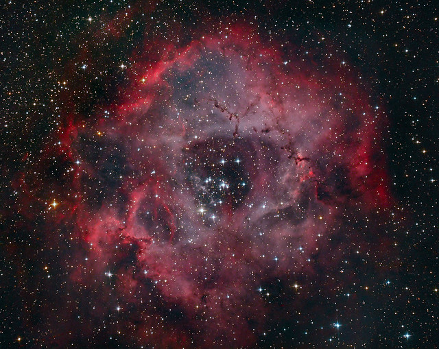 VCSE - NGC 2244 és Rozetta-köd - Ágoston Zsolt