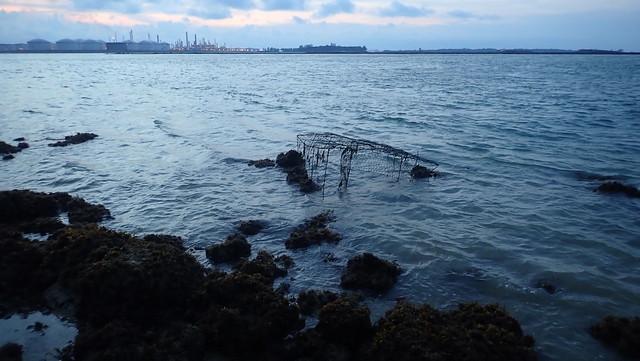 Fish trap at Terumbu Pempang Laut