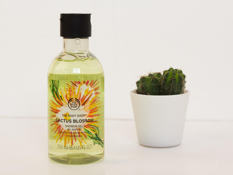 The Body Shop Cactus Blossom Shower Gel