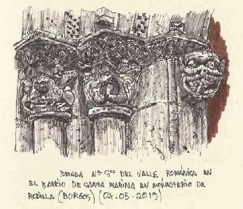Monasterio de Rodilla (Burgos)