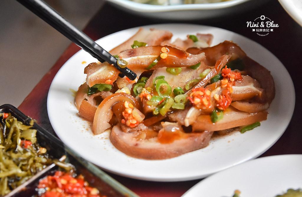 陋巷之春老家牛肉麵 menu菜單 台中中華夜市美食36