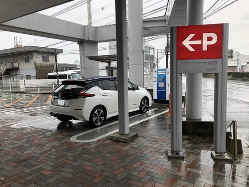 日産リーフ e+(62kWh)@日産プリンス福岡 空港店