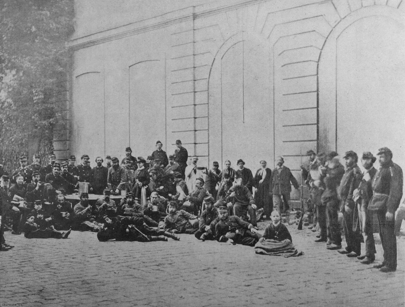 1871. Коммунары