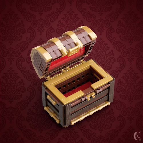 Antique Chest - Opened