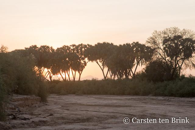 Samburu County sunset