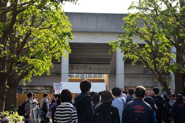20190508 秩父宮ラグビー場 東門 / Prince Chichibu Memorial Rugby Stadium