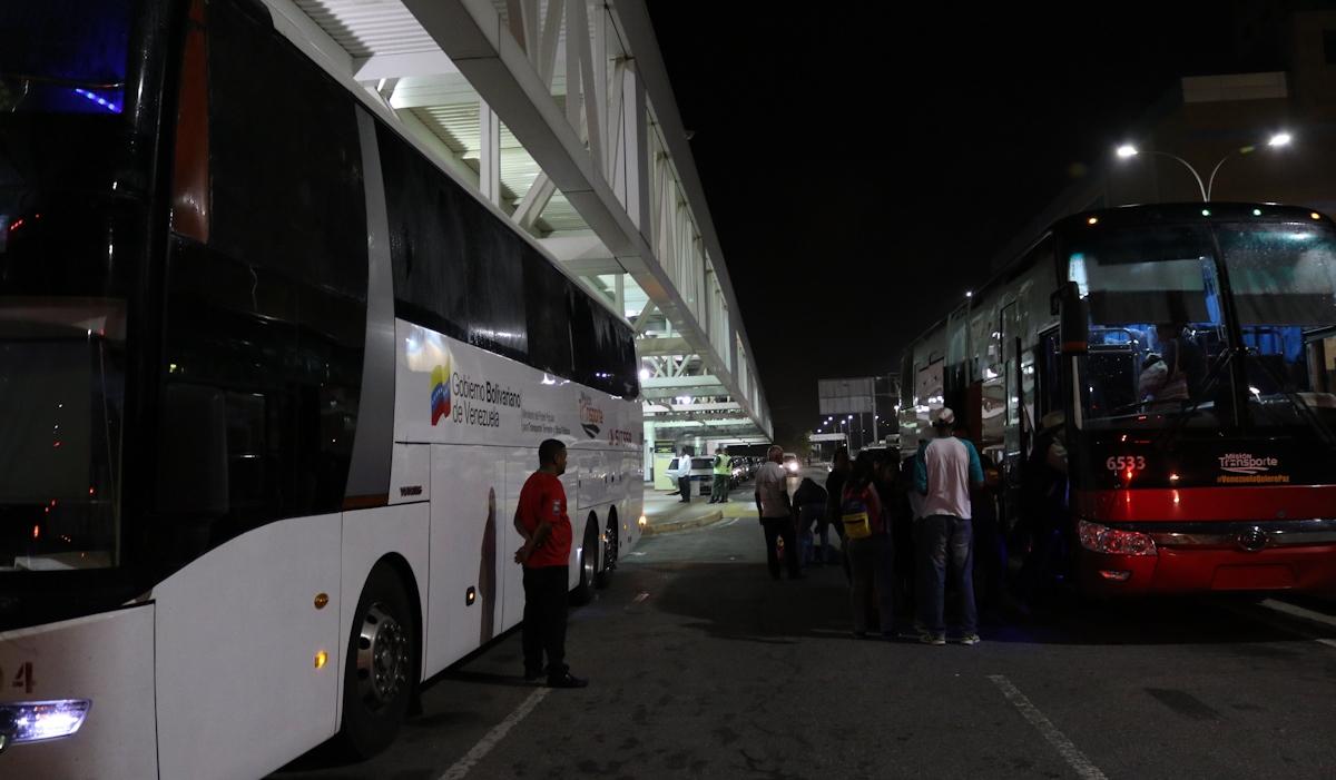 De Vuelta a la Patria 180 venezolanos desde Perú