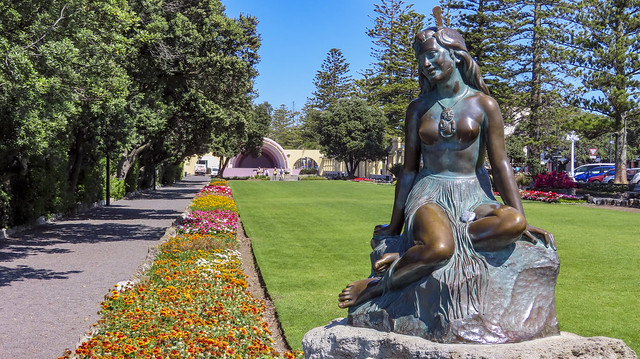 Pania of the Reef  - Napier - New Zealand