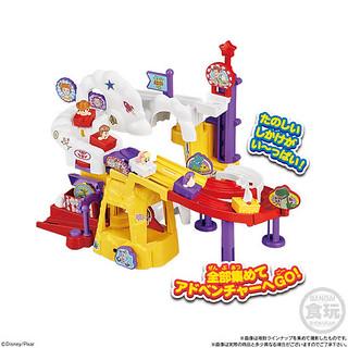 《玩具總動員4》「Go!Go! 娃娃雲霄飛車」盒玩 歡樂登場!TOY STORY4 Go!Go!トロッココースター